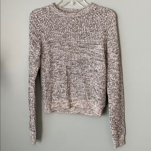H&M Grey Knit Crewneck Sweater